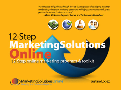 12-Step Marketing Solutions Online Workbook